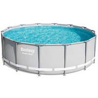 Bestway Каркасный бассейн Bestway 56444 (427х122) с картриджным фильтром, фото 1