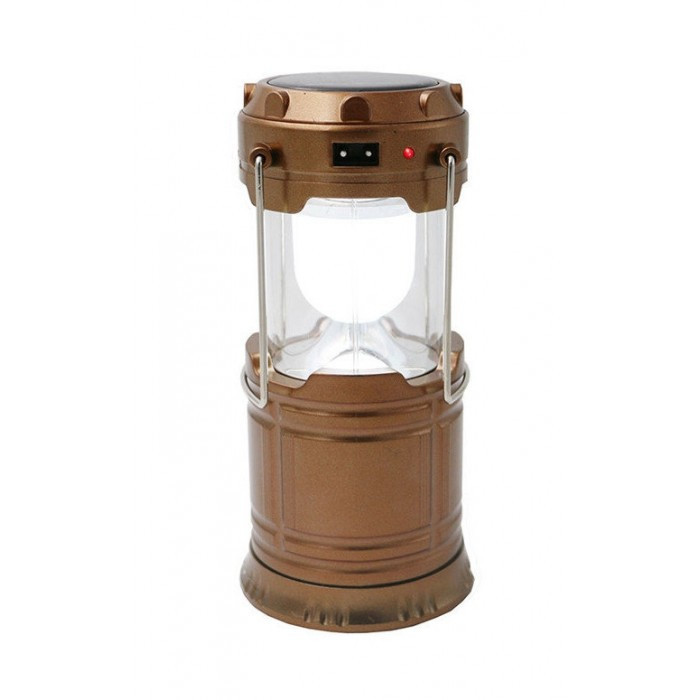 Кемпинговая LED лампа G 85 c POWER BANK Фонарь фонарик солнечная панель Золотая Оригинал