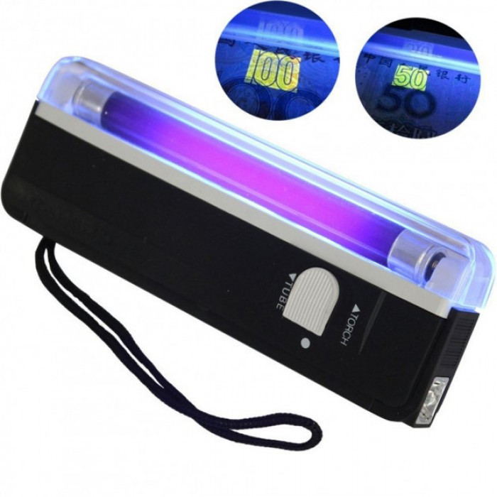 Ультрафиолетовый портативный детектор валют карманный DL-01 Оригинал
