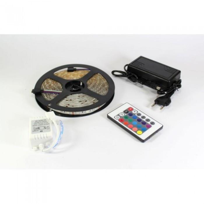 Лента светодиодная RGB 5050 - полный комплект влагозащищена Оригинал
