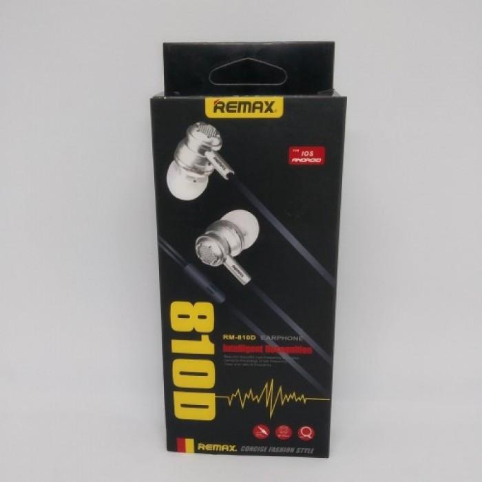 Вакуумные Наушники Remax RM-810D с микрофоном Mega Bass ЗОЛОТЫЕ Оригинал