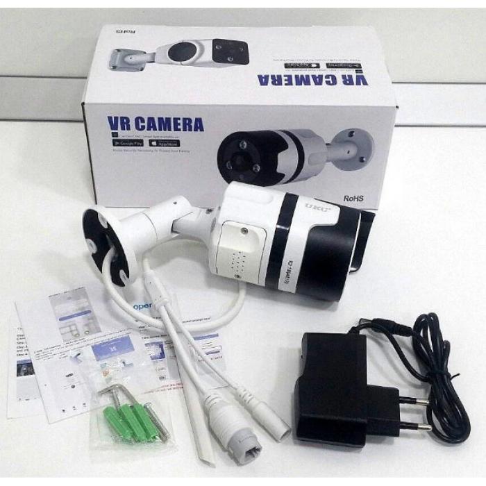 Камера настенная потолочная уличная 2 в 1 CAMERA CAD 7010 WIFI ip БЕЛАЯ Оригинал