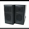 Компьютерные деревянные колонки акустика FT 102 ЧЁРНЫЕ Оригинал, фото 2