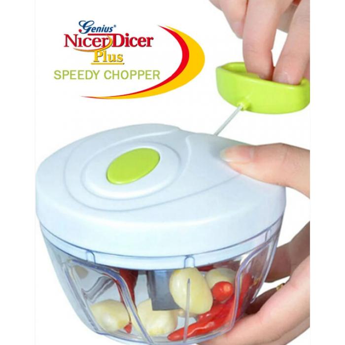 Универсальный измельчитель овощей Speedy Chopper чоппер Белый Оригинал