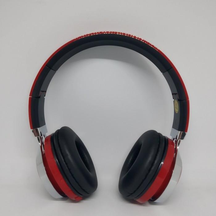 Беспроводные Bluetooth Наушники 39S FM радио Красные Оригинал