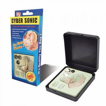 Слуховой аппарат Cyber Sonic + 3 батарейки Оригинал