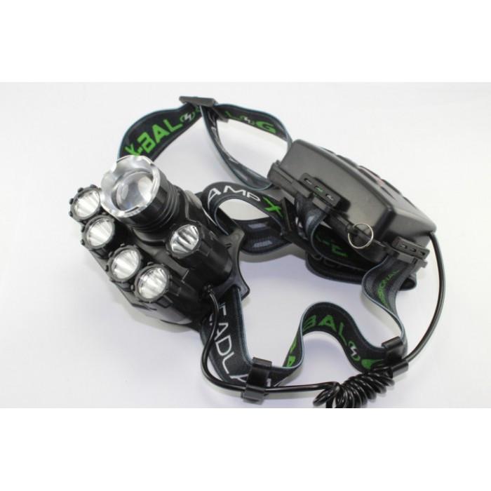 Налобный фонарь BL POLICE BL-T78 158000W T6 фонарик 1700 Lumen + УФ Оригинал