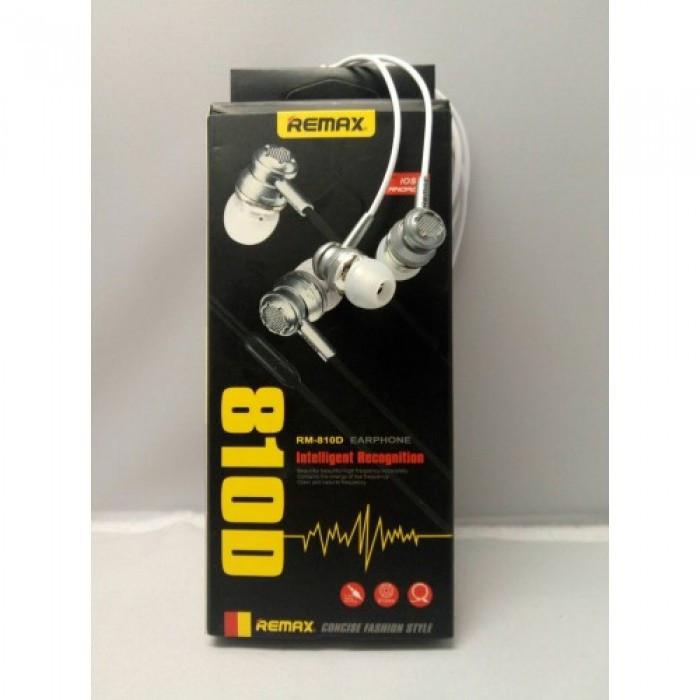 Вакуумные Наушники Remax RM-810D с микрофоном Mega Bass Оригинал