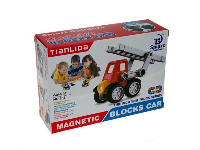 Конструктор магнитный Smart Builders 380-385