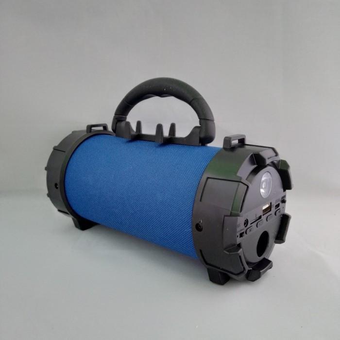 Портативная bluetooth MP3 колонка SPS F18 Синий Оригинал