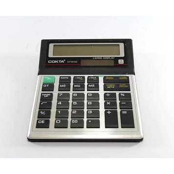 Настольный Калькулятор СОКТА CT612C большой Оригинал