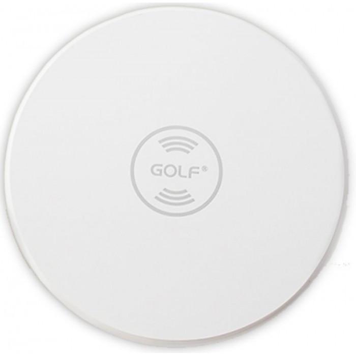 Беспроводная зарядка Golf GF-WQ3 Wireless Charger БЕЛАЯ Оригинал
