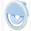 Вспышка-подсветка для телефона селфи-кольцо Selfie Ring Ligh Голубой Оригинал, фото 2