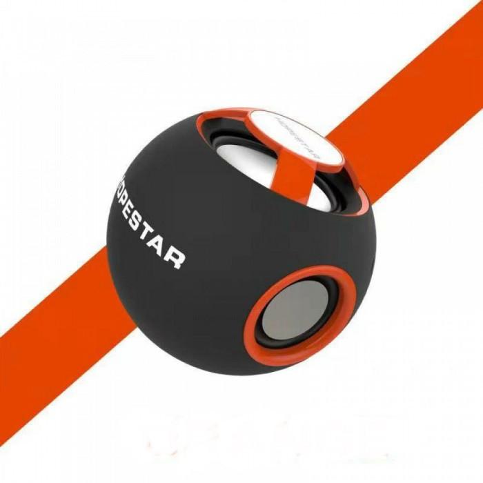 Портативная Bluetooth колонка Hopestar H46 ФМ, MP3, USB Оранжевый Оригинал