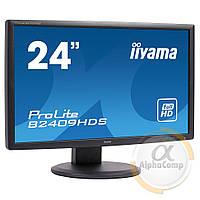 "Монітор 24"" Iiyama ProLite B2409HDS (TN/16:9/VGA/DVI/HDMI/FullHD) БО"