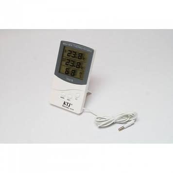 Термометр, гигрометр, метеостанция + выносной датчик TA 318 Белый Оригинал