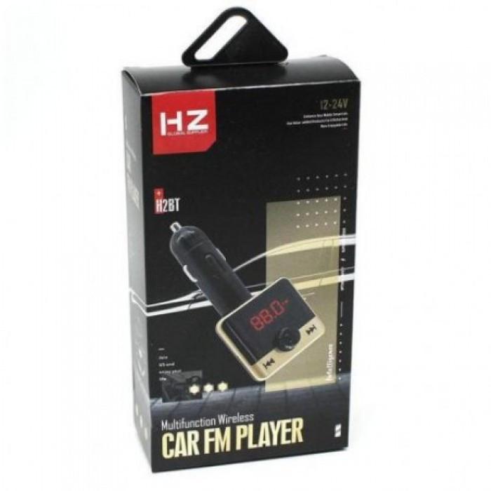 Автомобильный FM трансмиттер модулятор H2 Bluetooth MP3 Оригинал
