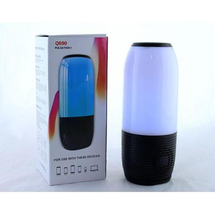 Портативная bluetooth колонка JBL Q690 Pulse FM MP3 Чёрный Оригинал