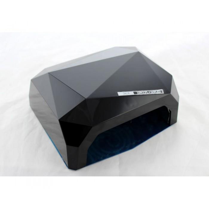 УФ лампа для наращивания ногтей на 36 Вт Beauty nail CCF + Led сенсор гель, лак Чёрная Оригинал
