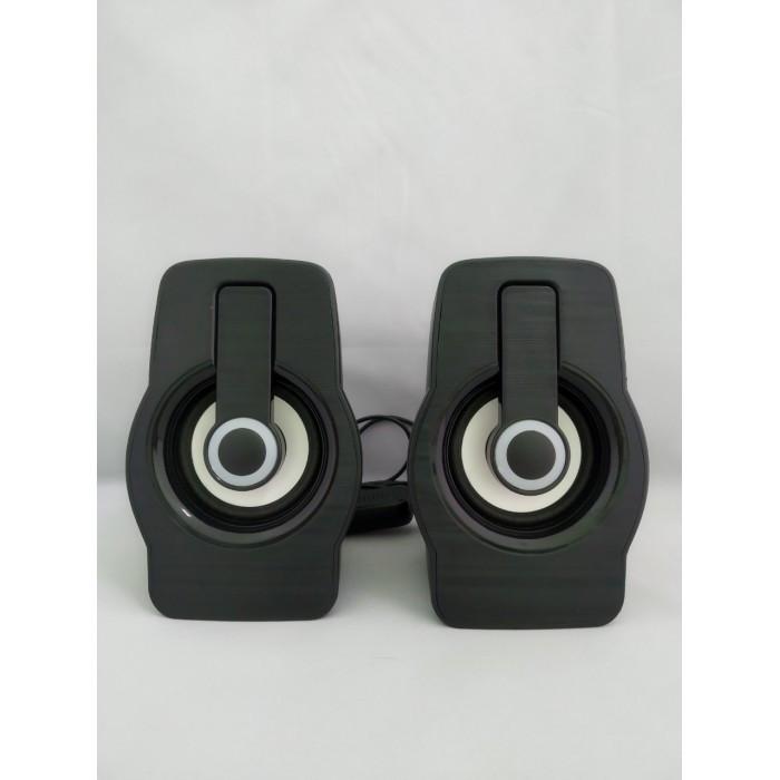 Компьютерные колонки акустика 2.0 USB FnT FT-185 Чёрные Оригинал