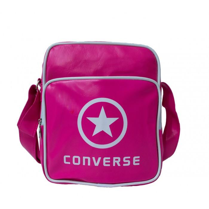 Сумка на плечо Converse 4144 Размер 21x24x8 Розовая Оригинал