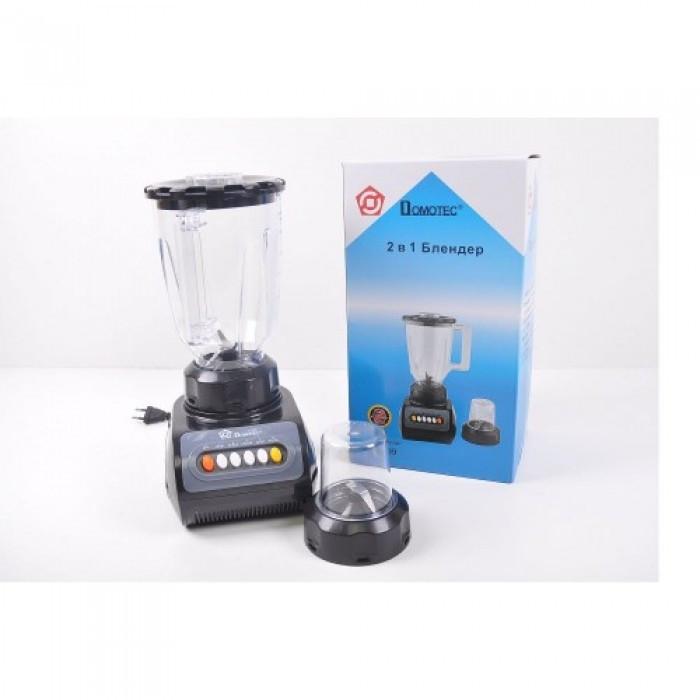 Блендер Domotec MS-9099 с кофемолкой измельчитель 1500W Оригинал