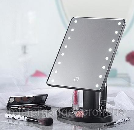Зеркало для макияжа Superstar 1608 с LED подсветкой, фото 2