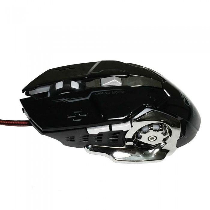 Игровая мышь с RGB подсветкой Zornwee Z32 Чёрная Оригинал