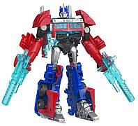 """Игровой Автобот Трансформер для мальчиков Оптимус Прайм """"Трансформеры Прайм"""" - Optimus Prime, Cyberverse, Hasbro"""