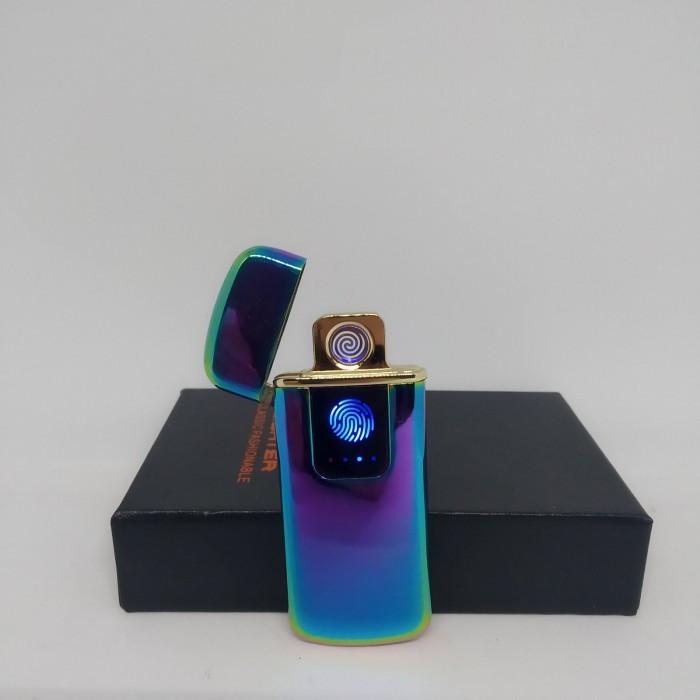 Спиральная сенсорная электрическая USB зажигалка Lighter 328 Оригинал
