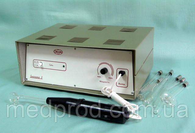ИСКРА-1 стационарный аппарат для дарсонвализации с электродами