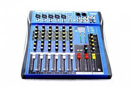 Аудіо підсилювач, dj пульт, мікшери Yamaha 6USB CT60/ CT 605 5 канальний