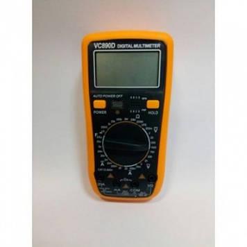Цифровой Профессиональный мультиметр VC890D тестер вольтметр Оригинал
