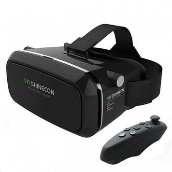 3D очки виртуальной реальности VR SHINECON c пультом Оригинал
