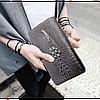 Мужской Клатч ALIGATOR bag ZQ850 черный Оригинал, фото 3