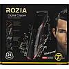 Беспроводная машинка для стрижки волос Rozia HQ-222T Оригинал, фото 4