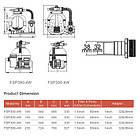 Emaux Фильтрационная установка Emaux FSP300-ST33 (4 м3/ч, D300), фото 3
