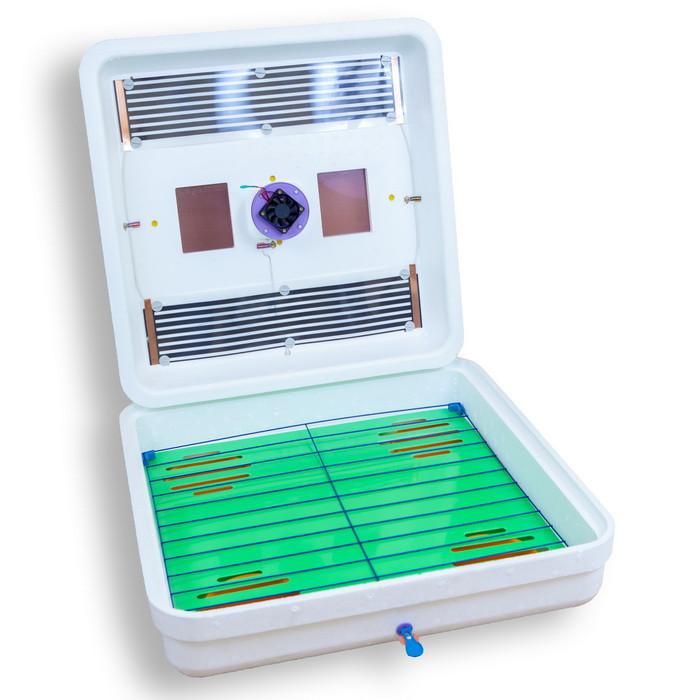 Инкубатор Рябушка ИБ-150 Smart plus цифровой терморегулятор ,механический переворот, вентилятор