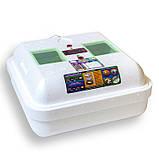 Инкубатор Рябушка / Інкубатор Smart ИБ-48 (48 ЯИЦ, Цифровой , Автоматический, Вентилятор, Керамика), фото 3