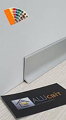 Плинтус накладной алюминиевый 40 мм RAL