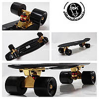 "Penny Board ""Fish"" Gold подвеска"