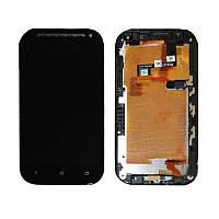 HTC One sv LCD, модуль, дисплей с сенсорным экраном (в сборе с рамкой)