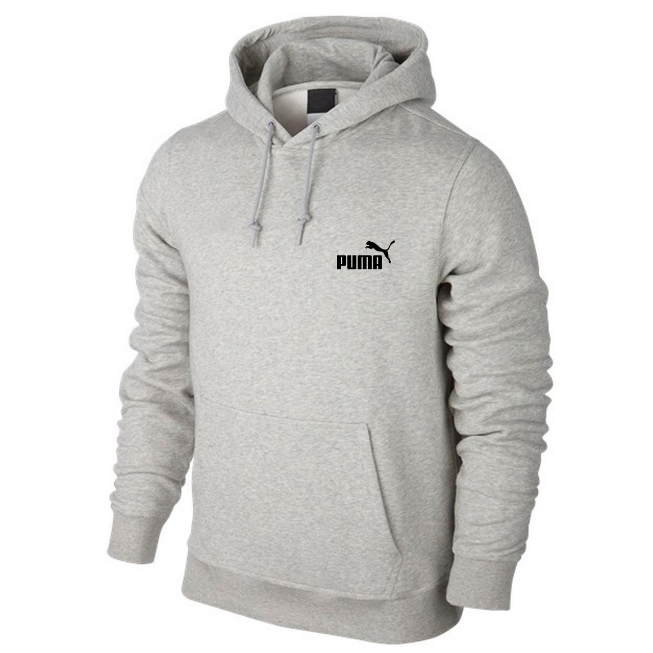 Спортивная мужская кофта Puma, серая