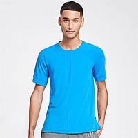 Футболка Nike Nike Sleeve Active Dry BATTLE BLUE/BLACK Оригінал, фото 1