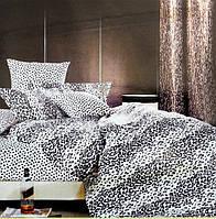 Комплект постельного белья семейный Elway 3830 Snow Leopard