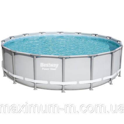 Bestway Надувний басейн Bestway 56451 (488х122) з картриджних фільтрів