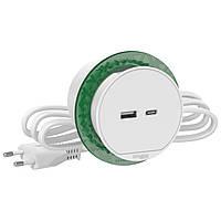 Блок 2 х USB 3 А (тип А + тип С) Белый Unica New Schneider Electric INS44008