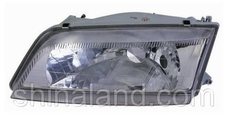 Фара Nissan Maxima QX IV (A32) 1994 - 2000, правая (пассажирская), механ., пластиковый рассеиватель