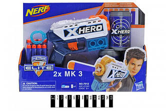 Бластер NERF X-Hero (7012)