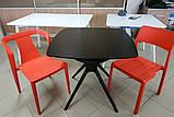 Стілець пластиковий IVA червоний (безкоштовна доставка), фото 4